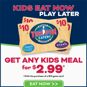 Graphic for Kids Meal Special