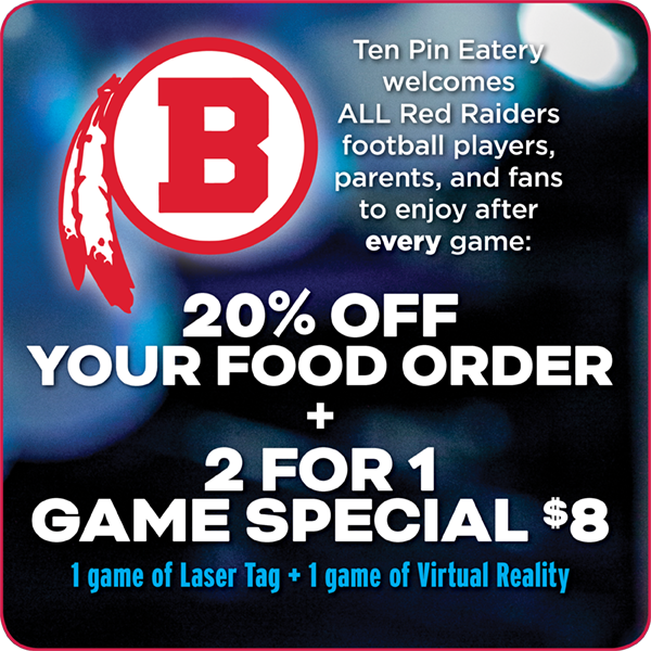 Red Raiders Football Special Flyer