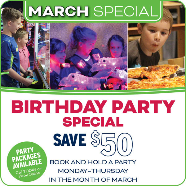 March Birthday Special