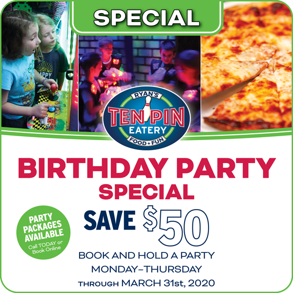 Birthday Party Special Offer