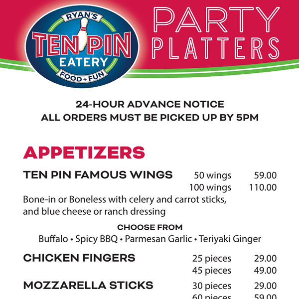 Party Platter Special