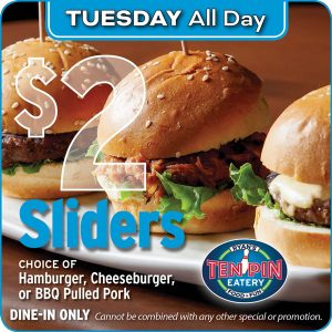All Day $2 Sliders
