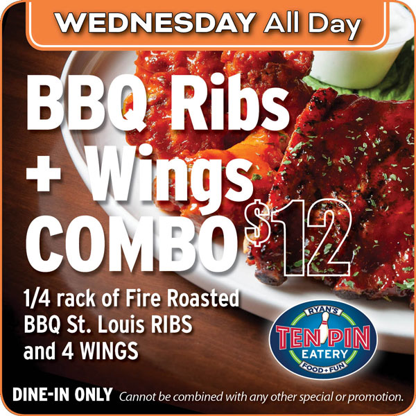 Ribs and Wings Offer