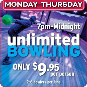 Unlimited Bowling @ Ten Pin Eatery | Barnstable | Massachusetts | United States