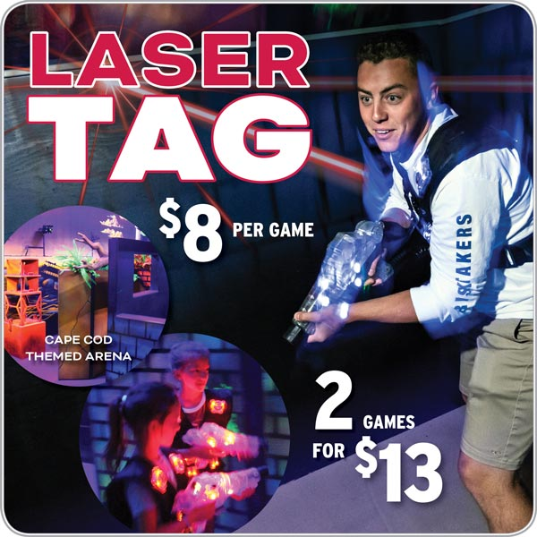 Cape Cod Mall Laser tag