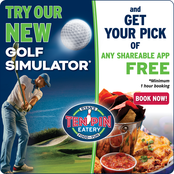 Golf Simulator Special Promotion