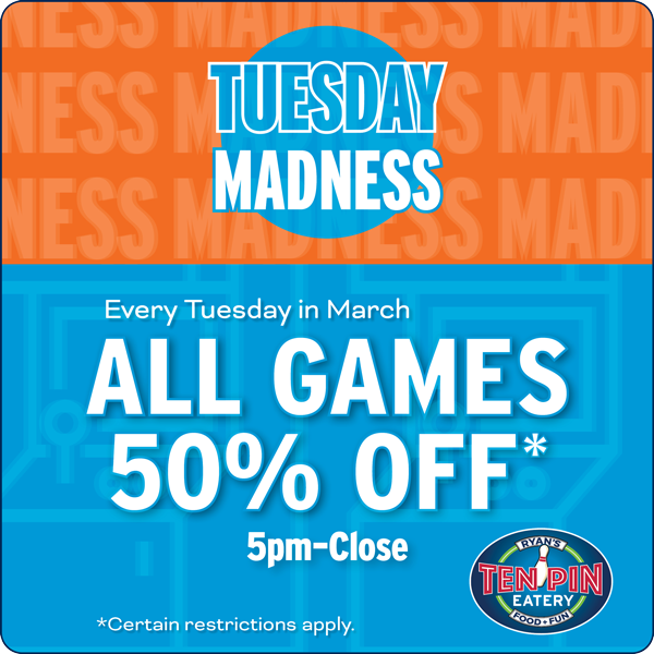 Tuesday Madness Special