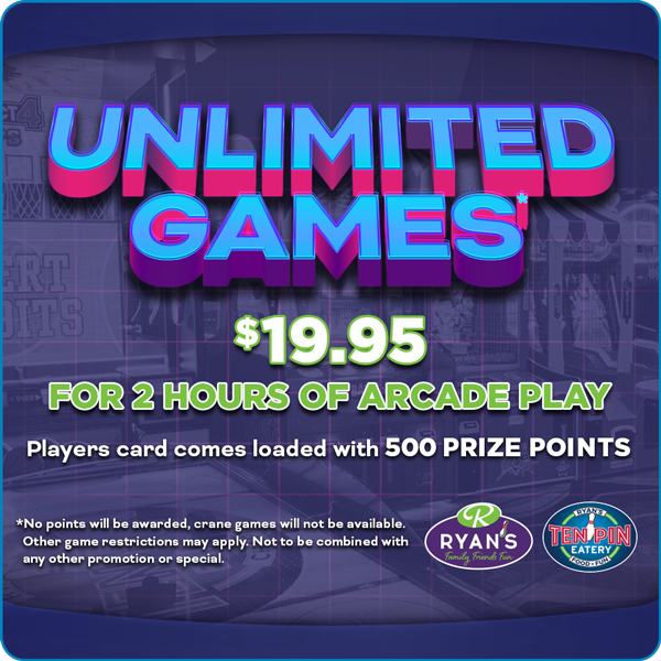 Unlimited Games Special Offer